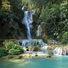Kuang Si Falls, Luang Prabang, Laos (PeterCH51) Tags: fall nature water square waterfall squareformat laos luangprabang kuangsifalls kuangsi louangphrabang 5photosaday louangphabang mywinners earthasia peterch51 flickrtravelaward