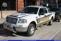 ford university police f150 department akron uapd