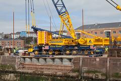 20140413_32763 (axle_b) Tags: ltm haven marina docks dock lift crane lock engineering harvey milford heavy hire mclaughlin milfordhaven liebherr 11000 heavylift ainscough milfordmarina milforddocks mclaughlinharvey liebherrltm11000 mclaughlinandharvey