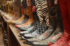 Boots (allie444) Tags: red black boot store cowboy nashville tennessee country western