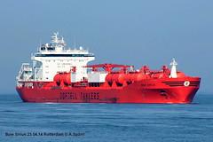 Bow Sirius (andreasspoerri) Tags: rotterdam norwegen tanker bowsirius imo9215294 stoczniastettin
