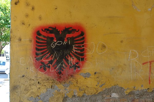 The double-headed eagle of Albania