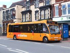 trent barton 490 Heanor (Guy Arab UF) Tags: bus buses king derbyshire trent solo barton prussia 490 optare m950 heanor amberline wellglade wellgladegroup fj10ehn
