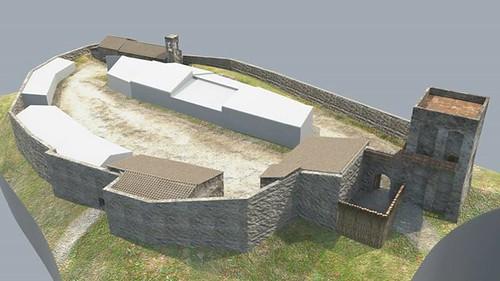 ricostruzione virtuale castello dicontignano 01
