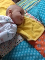 "Dani on Her Activity Mat • <a style=""font-size:0.8em;"" href=""http://www.flickr.com/photos/109120354@N07/32731239230/"" target=""_blank"">View on Flickr</a>"