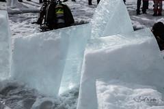 IMG_4711 (Scott Martin Calgary) Tags: improvementdistrictno9 alberta canada ca lakeminnewanka scuba diving ice iceblocks