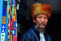 Nepal- Mustang- Kagbeni (venturidonatella) Tags: nepal asia mustang kagbeni portrait ritratto persone people gentes colori colors nikon nikond300 d300 himalaya hat cappello