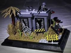 Operation Spotlight - Main (n7mereel) Tags: ghost recon lego new build modern military brickarms bricks eclipsegrafx n7mereel 2017 vignette story scene wasteland desert guns america weapons makelegogreatagain nopunintended