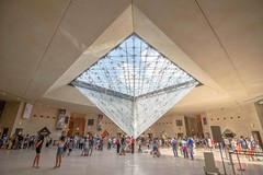The Inverted Pyramid (Saioa Elizondo) Tags: parisjetaime paris parismonamour architecture pyramid louvre carrousel museum arquitectura travel