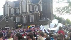 IMAG0888 (paddy75) Tags: amsterdam gaypride canalparade prinsengracht westerkerk