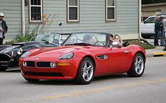 BMW Z8 (SPV Automotive) Tags: bmw z8 e52 roadster convertible exotic sports car red