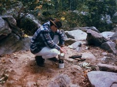 Coffee 1986 (eagle_TH66) Tags: linvillegorge coffee backpacking camping vintagebackpacking nc campinggear