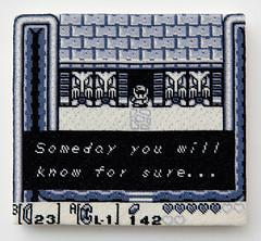 The Legend of Zelda: Link's Awakening (version 6) (2014) (perfhager) Tags: perfhager steneprojects contemporaryart gaming craft needlepoint embroidery handmade 刺繍 ゲーム 美術 現代美術 クラフト ハンドメイド アート