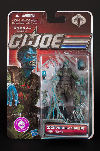 GI Joe: Zombie-Viper (Cobra Trooper)
