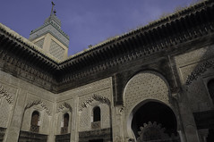 Medersa (viaggionelmondo) Tags: nikon morocco maroc marocco maghreb medina madrassa medersa d90 koranicschool bouinaniamedersa scuolacoranica medinaoffez  fassimedina