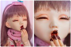 Doll_a_day - Eating / Cooking -    (KittyWild) Tags: doll bjd hybrid unoa lusis recast leekeworld artbody