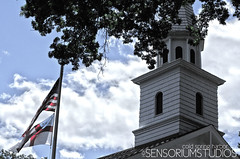 Church HDR (SensoriumStudios) Tags: new york old ny church island li harbor long flag hdr sag liny