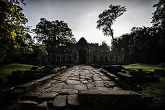 Ghosts and echoes (mephistofales) Tags: light sunrise dawn ancient cambodia southeastasia khmer angkorwat unescoworldheritagesite jungle temples shrines shafts angkorthom siemreep thaprom