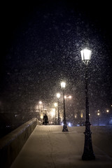 Snowy Royal Bridge. (Pierre Bodilis) Tags: seine pont neige passerelle bloga a hrefhttpratakieusee