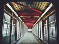 (AnthonyTulliani) Tags: station boston train phone transit mbta iphone phoneography vsco iphoneography vscocam