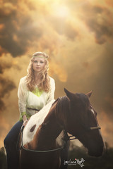 _MG_4318 copy L (lawsonj123) Tags: portrait horse woman girl female clouds rural farm country riding hippie boho rider equine horseriding