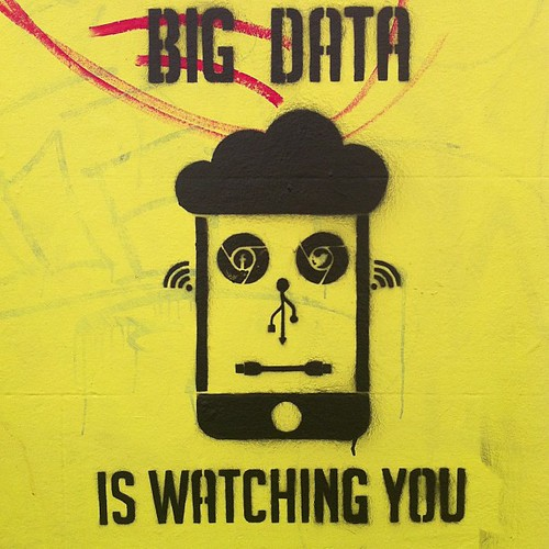 Big Data is watching you by adactio, on Flickr