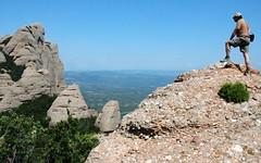Cresta de Cirers (Manuel Punsola) Tags: montserrat catalunya fraresencantats