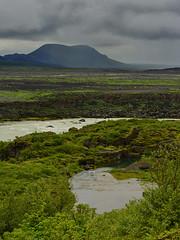 The heartshaped pond (arnitr) Tags: trees sky love clouds river lava iceland pond nikon heart brfell rni arni southiceland arnitr d7100 bjlfell nikond7100