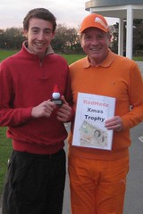006 - Joe Yorke Roll-Up Xmas Trophy Winner (Neville Wootton Photography) Tags: golf canonixus70 stmelliongolfclub joeyorke nevillewootton redhedzrollupxmastrophy