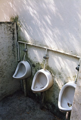 Corse, Toilettes et sanitaires d'un Camping  Vico, 2004 (Tumbalalaika) Tags: camping france corse corsica galeria porto vico toilettes ota douches bagnes evisa archeologiaindustriale bagne pissoirs sagone sanitaires bagnopenale gargese