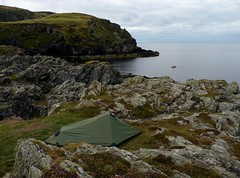My Tent (langleyo) Tags: camping ny man coast hiking walk tent backpacking solo sound backpack calf isle raad gelert foillan