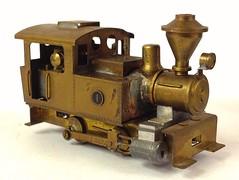 VARIOUS HO BRASS - Some unique and odd locomotives and equipment - Ken Kidder Import - 0-4-0T HOn3 Plantation Engine #1 (bslook1213) Tags: japanese yahoo google ho bing googleimages modelrailroading steamlocomotives flickriver hon3