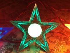 green ge d14JPG (JeffCarter629) Tags: glow ge c9 d14 vintagechristmas glowstar vintagechristmaslights gechristmaslights generalelectricchristmaslights glostar