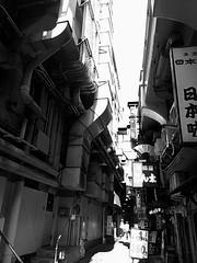 noon (komehachi888) Tags: monochrome kobe cellularphone htc mumbling