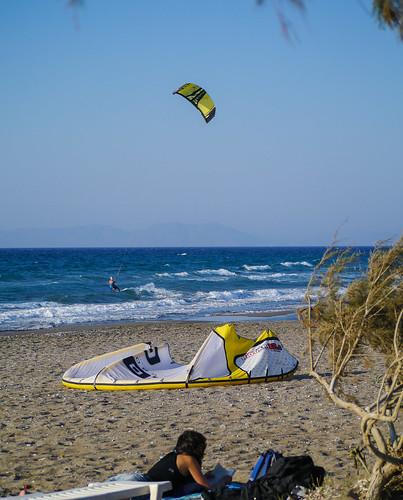 Kite Surfing Fanes - Φάνες στη Ρόδο