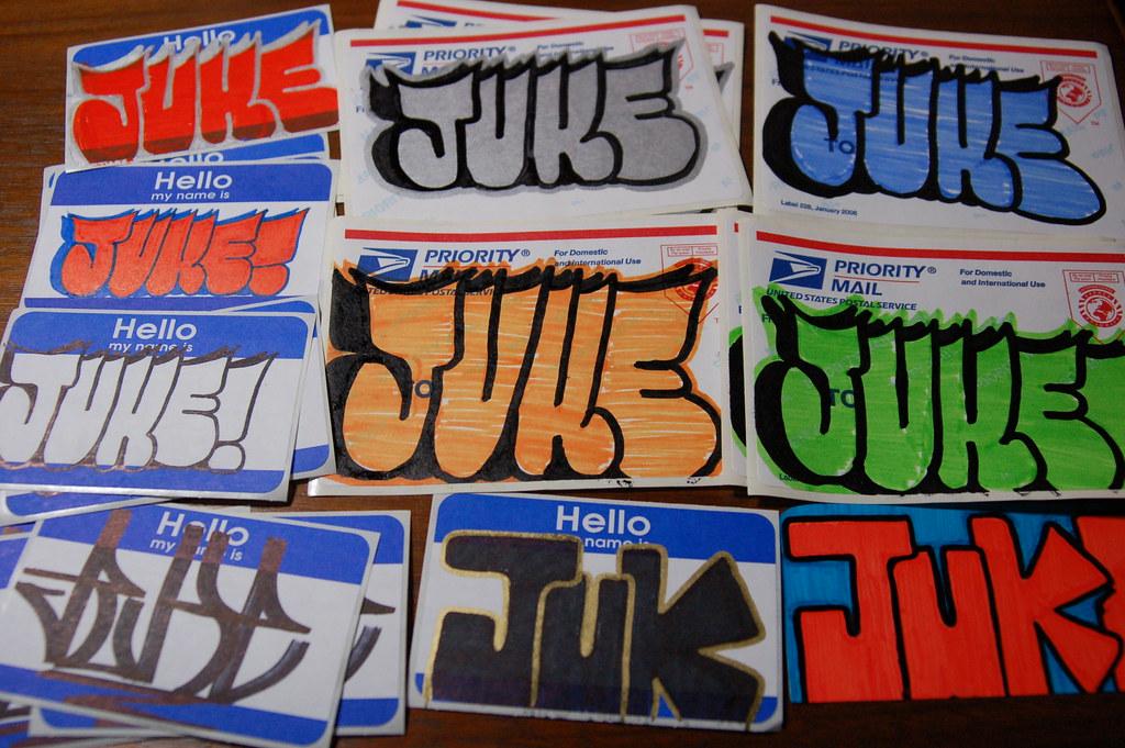 Priority Mail Sticker Graffiti The World's most recen...