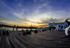 Sunset @ Sky Garden (Zaid AB R.) Tags: sunset flickr 8mm samyang vivocity sunsetwallpaper canon7d samyang8mm