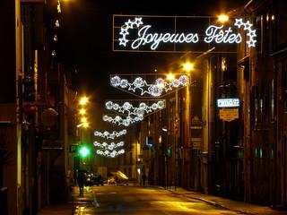 Langogne (48), illuminations 2011