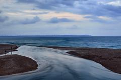 Boaay (ErdenizS) Tags: blue sky beach water clouds river landscape seaside nikon delta antalya konyaalt d5100