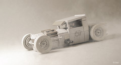 Mike Burroughs' BMW-Powered 1928 Ford Model A in Lego  –  Desert dusty version _/ 04 (_Tiler) Tags: ford car truck modela automobile lego engine pickup burroughs bmw hotrod vehicle minifig 67 stance ratrod fordmodela 1928fordmodela minifigscale 1928fordpickup stanceworks mikeburroughs michaelburroughs