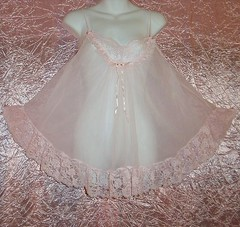 Sweetest Sissy Pink Vintage Double nylon Chiffon Babydoll Tosca adult baby gown Lacy size Large! (Rock Candy Roses) Tags: pink sexy vintage ruffles soft sweet lace girly cd chiffon ab sissy crossdresser nylon sheer adultbaby vintagelingerie pinkchiffon vintagebabydoll gurlzgoneglam gurlzecratercom toscalingerie