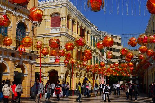 Macau | Lunar New Year 2014 | Senado Square