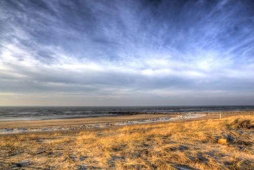 Blavand Winter sky