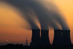 Industrial daybreak (tolle13) Tags: longexposure sunrise landscape industrial coolingtowers fiddlersferry wiggisland canon5dmk3 jedpearson