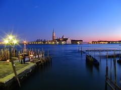San Giorgio - dusk (Lanfranch) Tags: venice europa italia laguna venezia sanctus adriatico repubblicaitaliana christianism veneta georgius mediterraneus