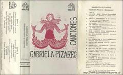 Gabriela Pizarro, interpreta una tonada recopilada por mi en Collipulli, IX Región, en 1982, del repertorio de la sra. Filomena Molina, y una cueca que recopilé en Olmué, V Región en 1967.