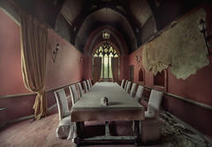 the illuminati ( explore ) (andre govia.) Tags: abandoned cat table skull decay ghost creepy mansion manor derelict decayed decaying manson illuminati abondoned decayedbuildings andregovia