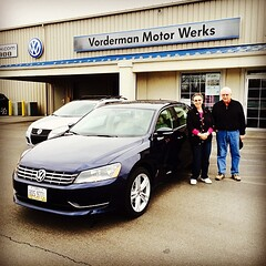 It's a busy day for #Passats here at #VordermanVW! Much thanks to Lyle & Donna! #TDI #Diesel #Passat #Volkswagen #VW #FortWayne (reg.vorderman) Tags: volkswagen vorderman vordermanvolkswagen httpvordermanvolkswagencom