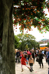 IMG_9999 (janoski006) Tags: china new city travel people urban horse orange tree leaves tangerine asian person asia good year chinese fortune hong kong destiny luck wishes lunar wishing