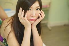 DSC08535 (rickytanghkg) Tags: portrait woman cute sexy girl beautiful beauty lady female studio asian model pretty chinese young belle taiwanese